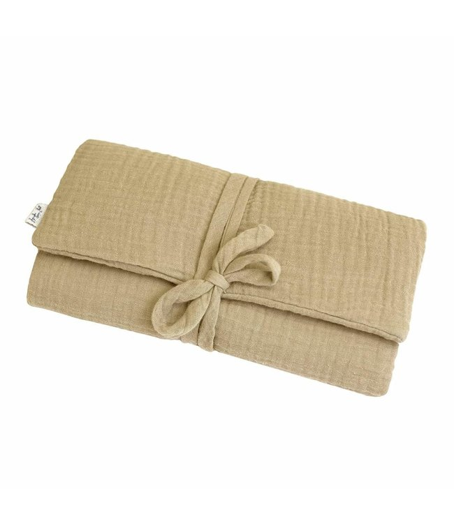 Travel changing pad one size - mellow yellow