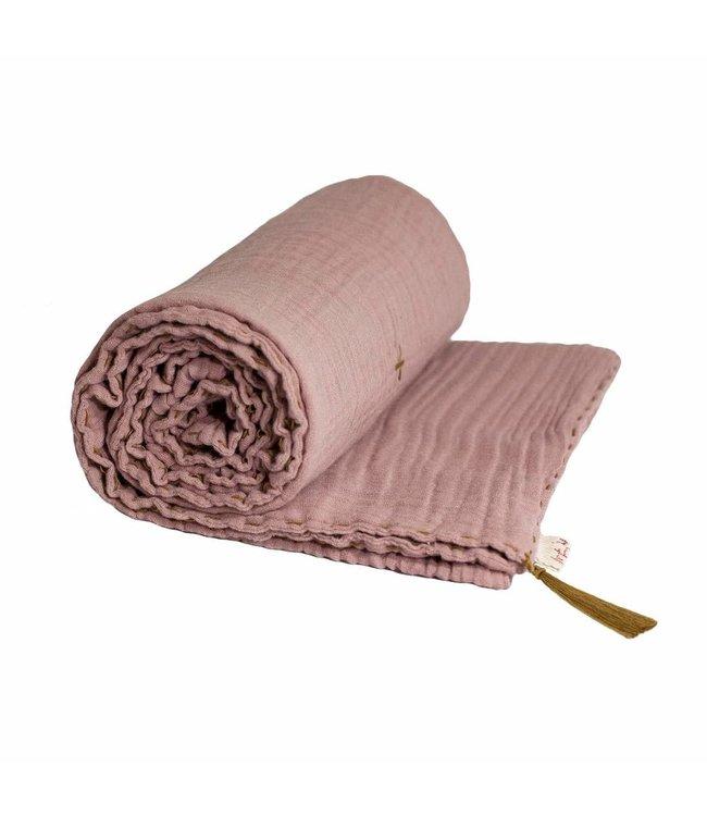 Numero 74 Summer blanket - dusty pink