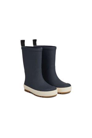 Liewood River rain boot - navy/creme de la creme mix