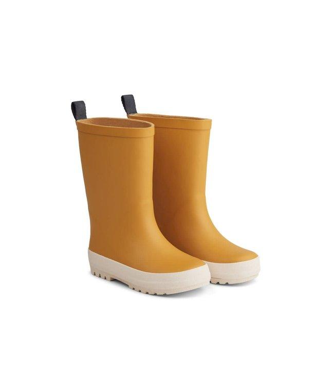 River rain boot - yellow mellow/creme de la creme mix