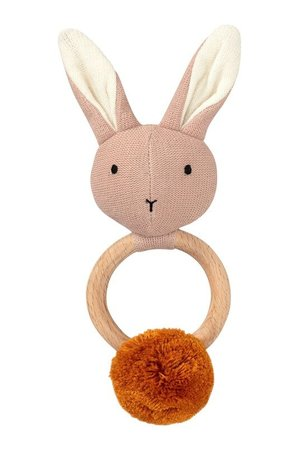 Liewood Aria rammelaar - rabbit rose