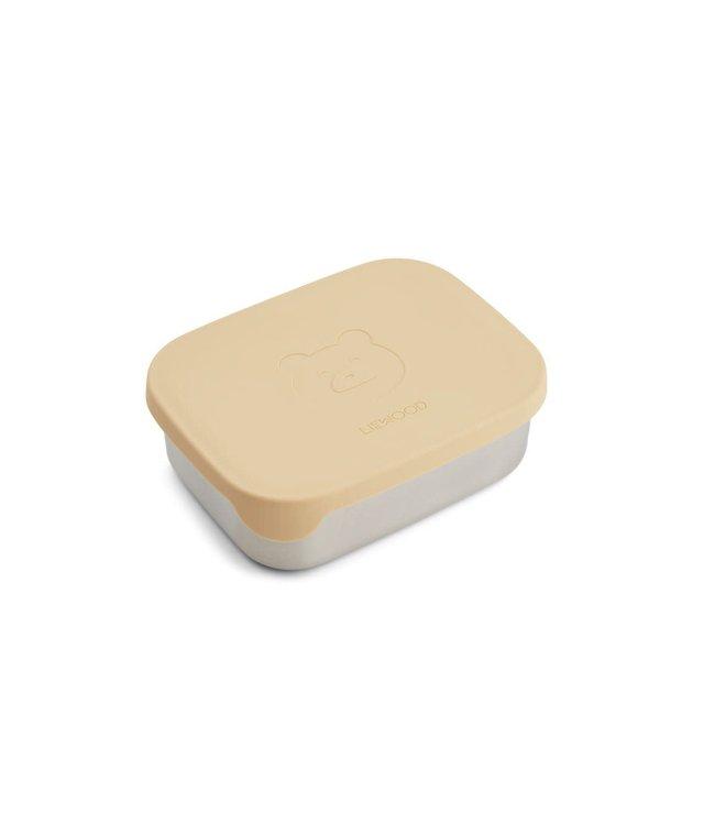 Liewood Arthur lunchbox - mr bear wheat yellow