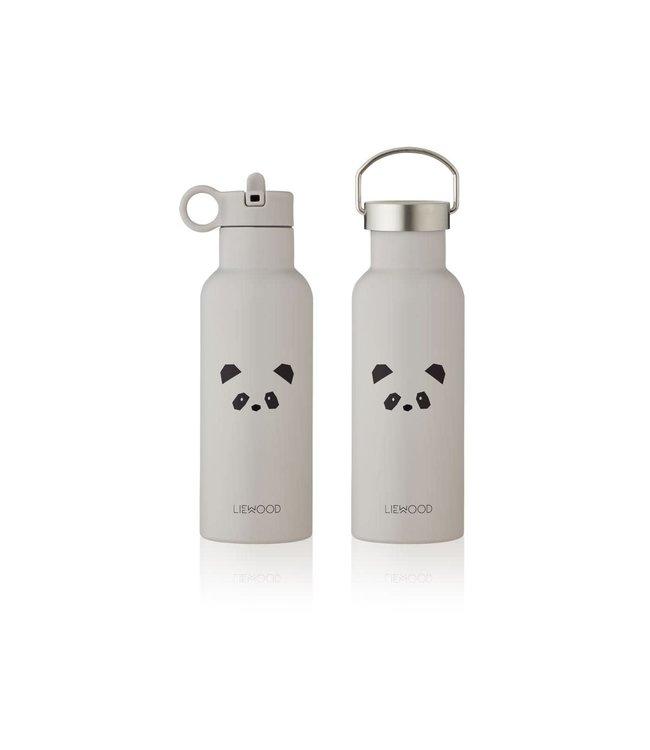 Liewood Neo water bottle - panda light grey