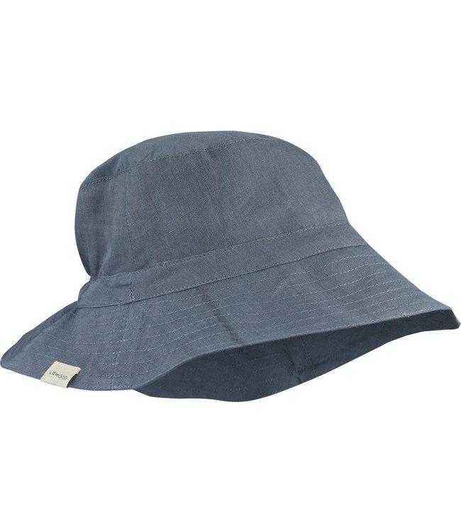 Liewood Delta bucket hat - blue wave