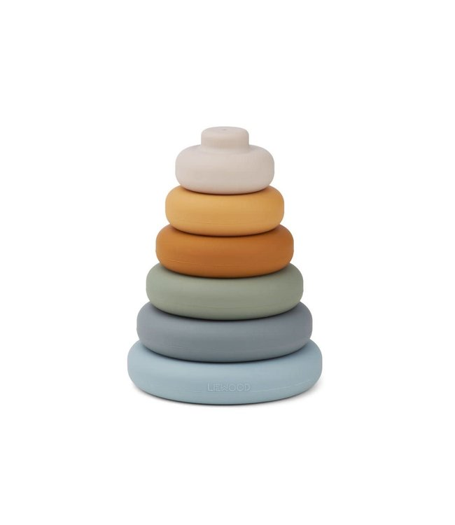 Liewood Dag stacking tower - blue multi mix