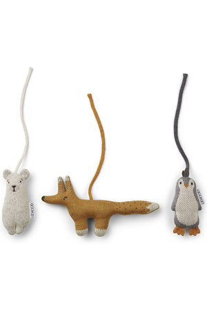 Liewood Grace playgym accessories 3-pack - arctic mix