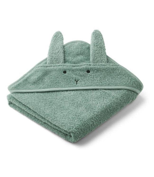 Liewood Augusta handdoek met capuchon - rabbit peppermint