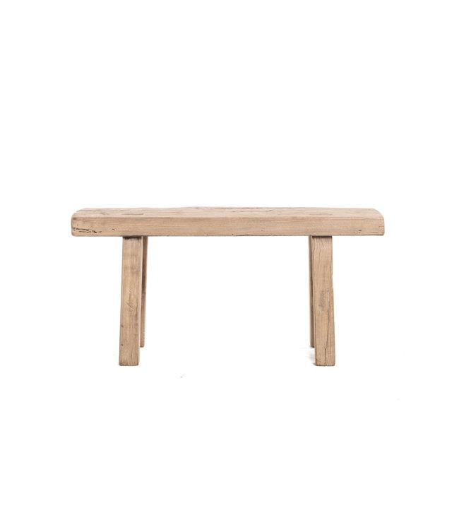 Short bench elm wood #15 - L100cm