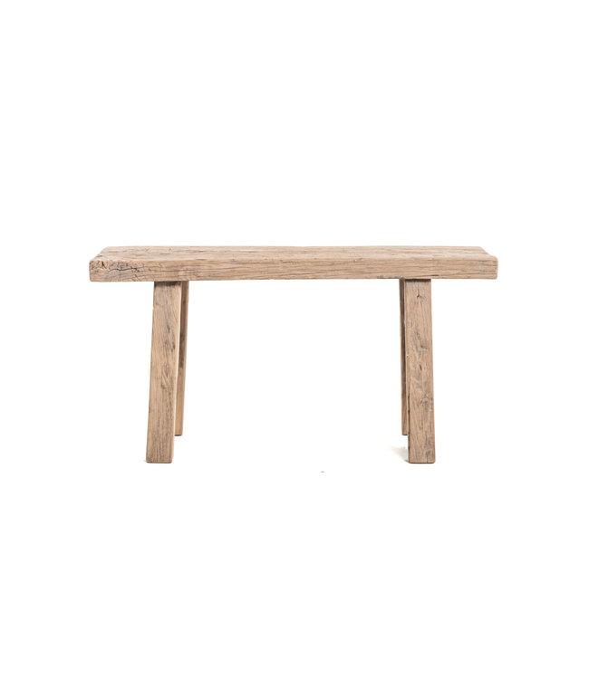 Short bench elm wood #16 - L96cm
