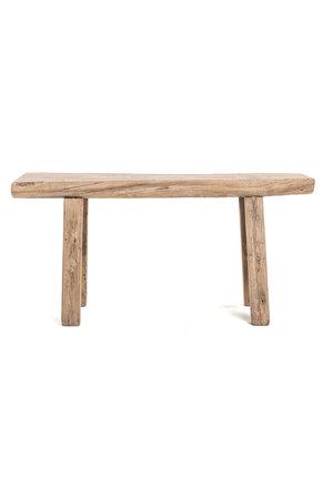 Short bench elm wood #18 - L103cm