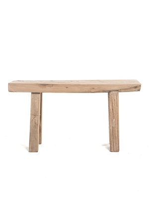 Short bench elm wood #20 - L92cm