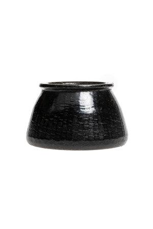 Soapstone pot  #21 - Indië