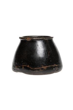 Soapstone pot #23 - Indië