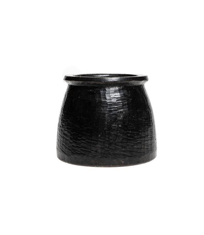 Soapstone pot #25 - Indië