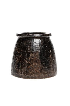 Soapstone pot #26 - Indië