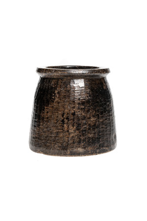 Soapstone pot #27 - Indië