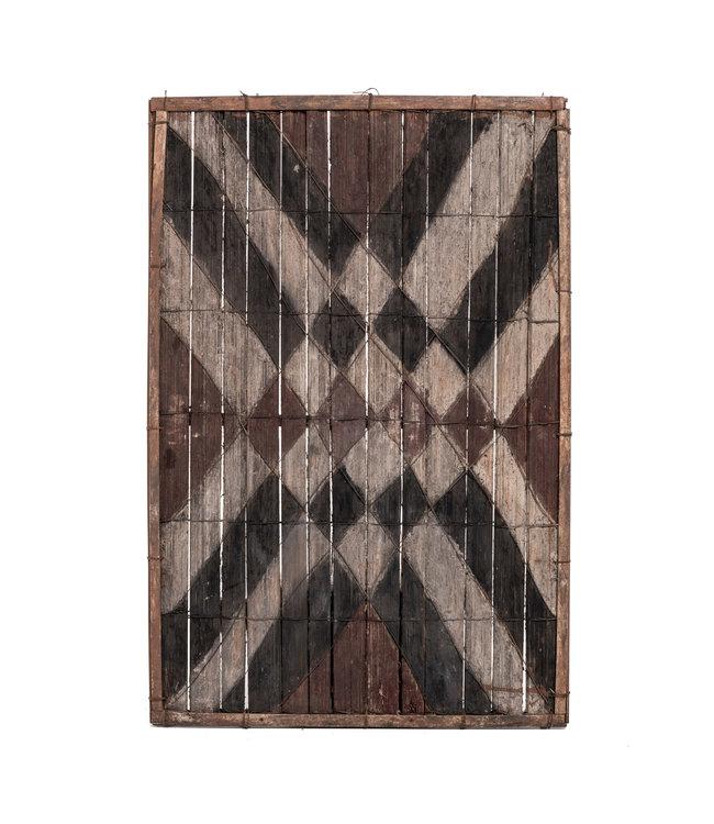 Old bamboo panel #27 - Salampasu