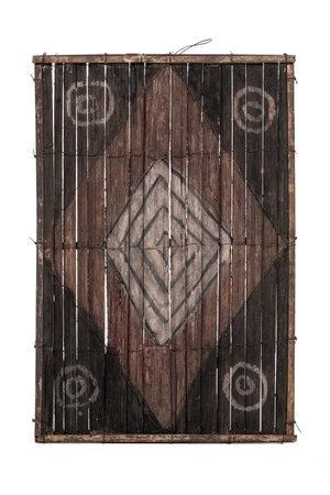 Old bamboo panel #30 - Salampasu