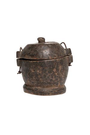 Old food bowl Tibet #29