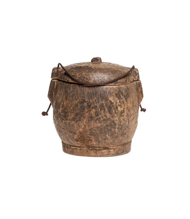 Old food bowl Tibet #31