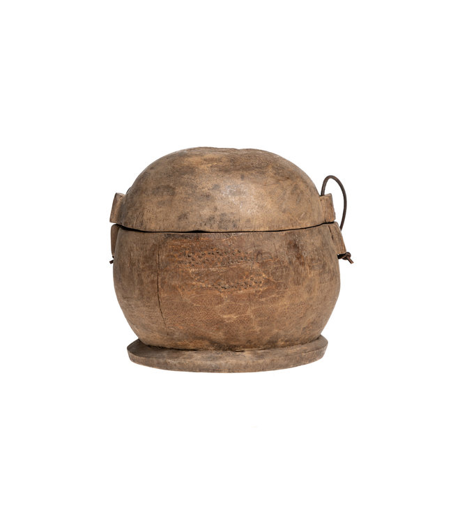 Old food bowl Tibet #33