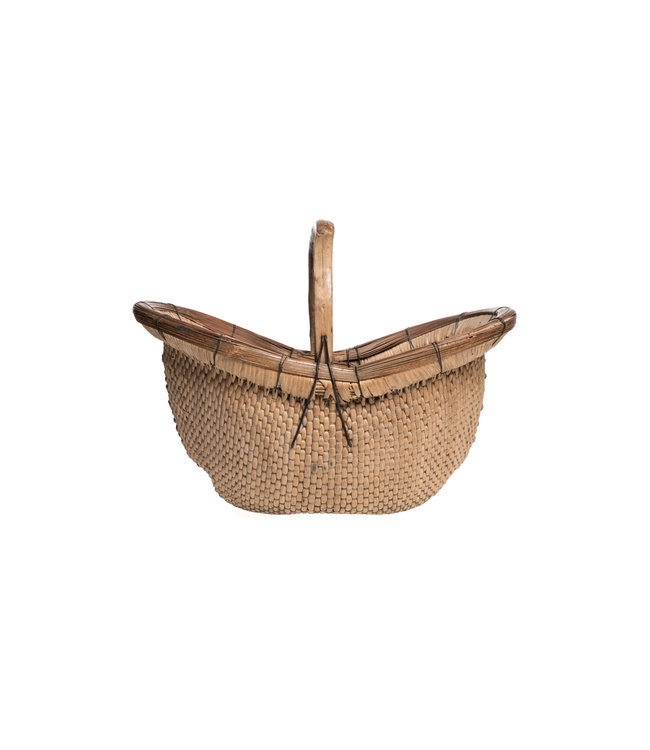 Old picking basket with handle - China #19