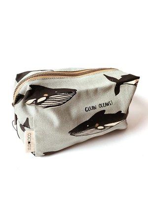 Studio Loco Canvas pencil case - whale