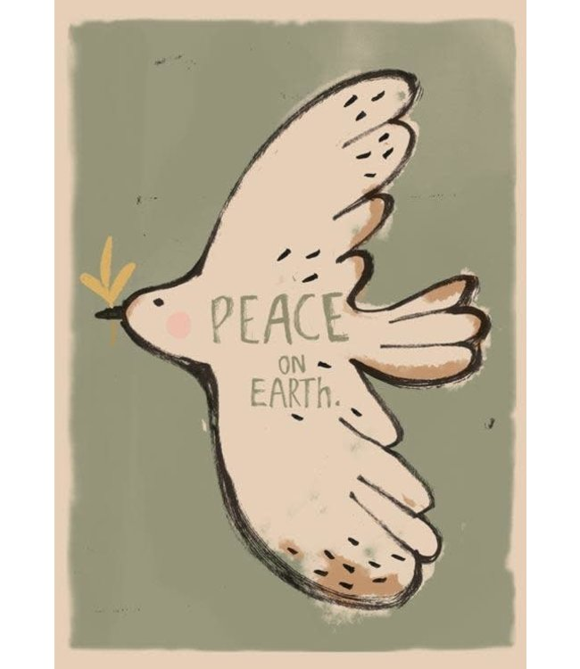 Poster - peace bird