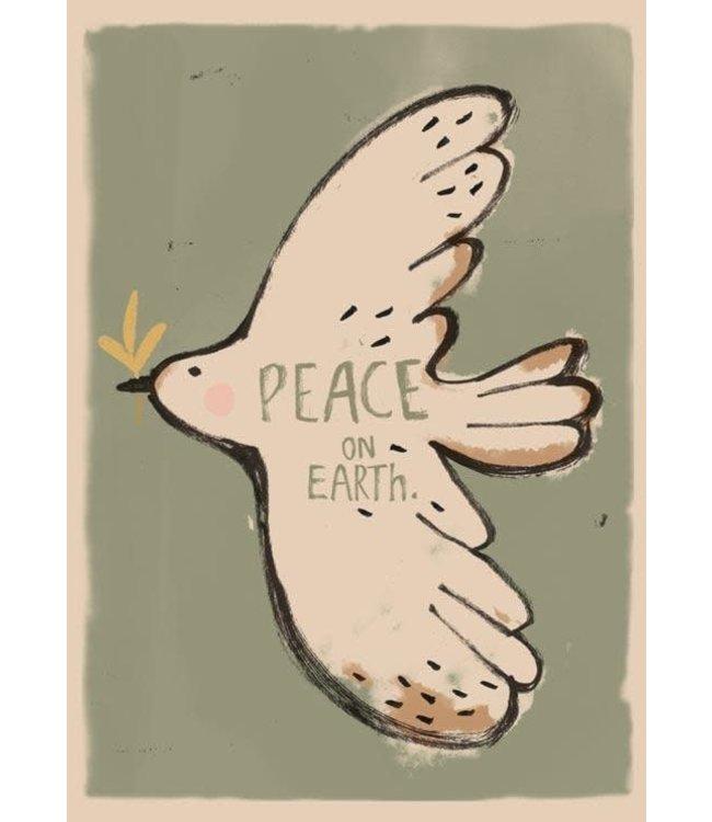 Studio Loco Poster - peace bird