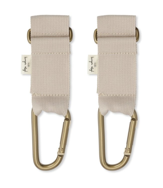 Stroller straps - beige