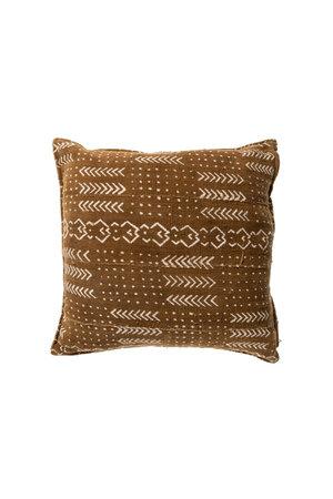 Mud cloth cushion #9