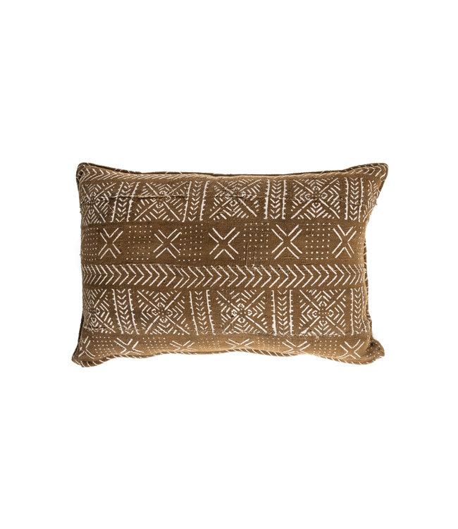 Mud cloth cushion #12