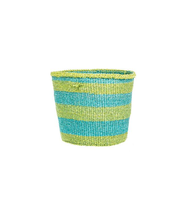 Sisal basket Kenya - colorful, practical weave #292