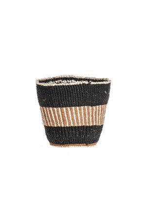 Couleur Locale Sisal mandje Kenia - aardetinten, fine weave #307