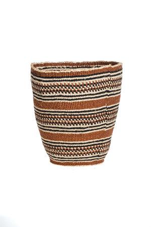 Couleur Locale Sisal mandje Kenia - aardetinten, fine weave #318