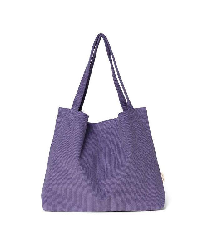 Purple rain  rib mom-bag
