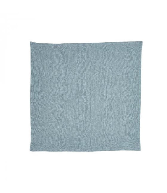 Libeco Skye napkin- steel blue