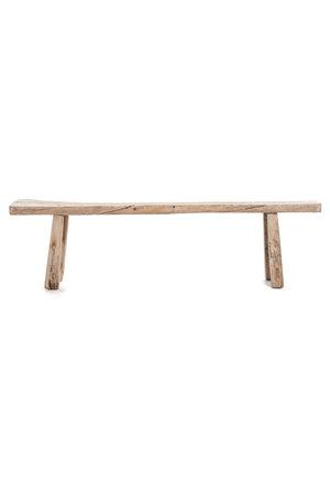 Bench weathered elm wood - 202cm