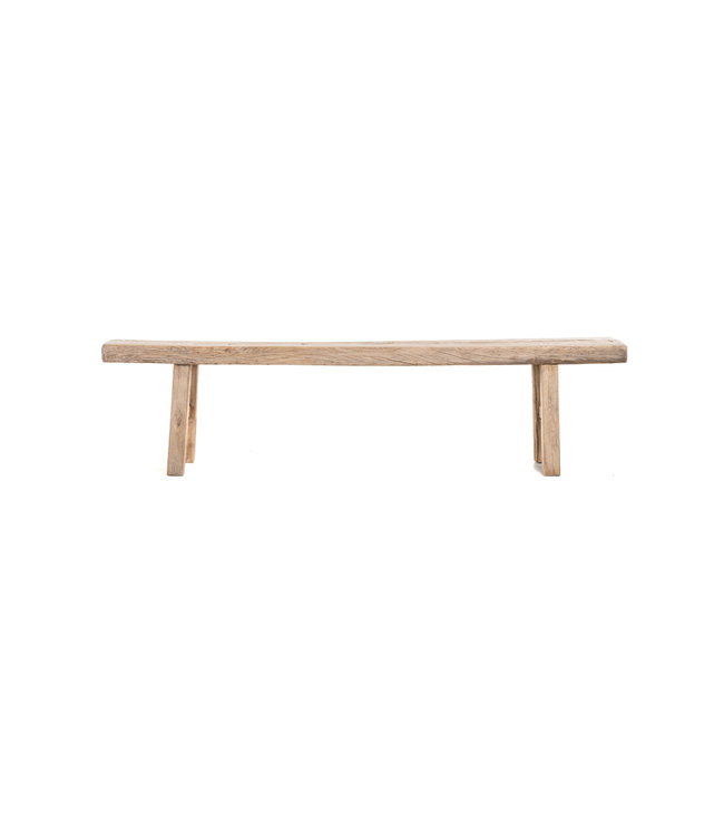 Bench weathered wood - 213cm