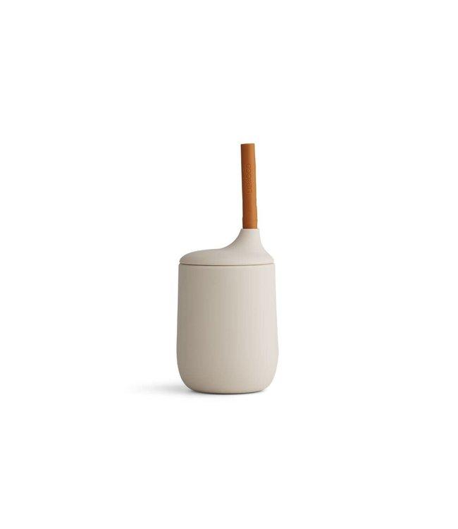 Liewood Ellis sippy cup - sandy/mustard mix