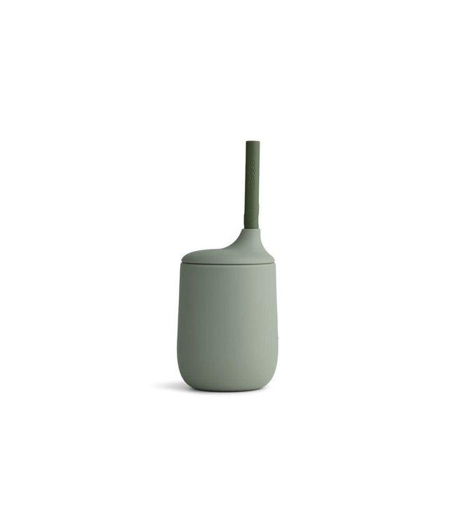 Liewood Ellis drinkbeker - faune green/hunter green mix