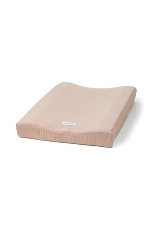 Liewood Cliff muslin changing mat cover - rose