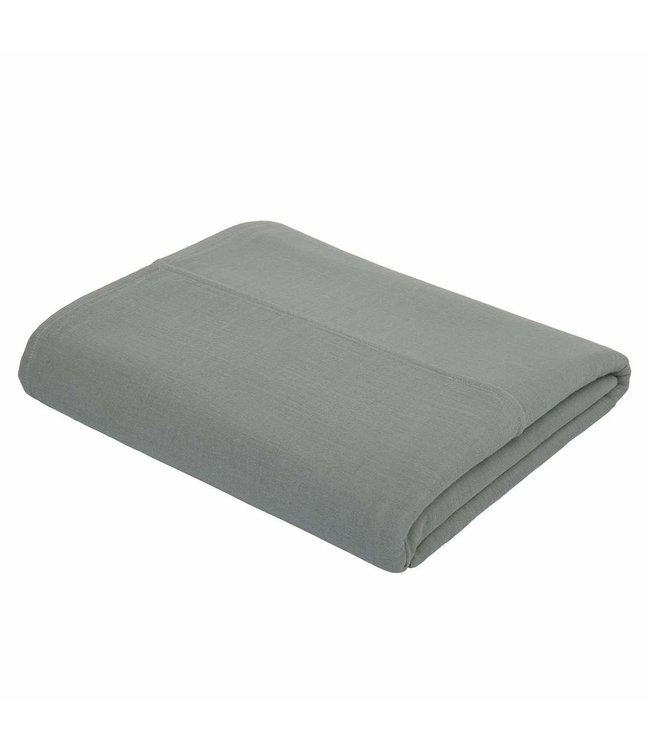 Numero 74 Top flat bed sheet plain - silver grey