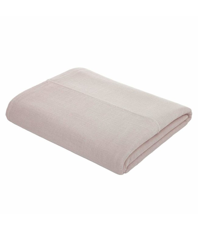 Top flat bed sheet plain - powder