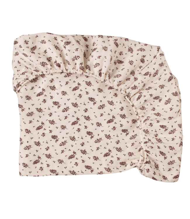 Main Sauvage Fitted sheet - meadow