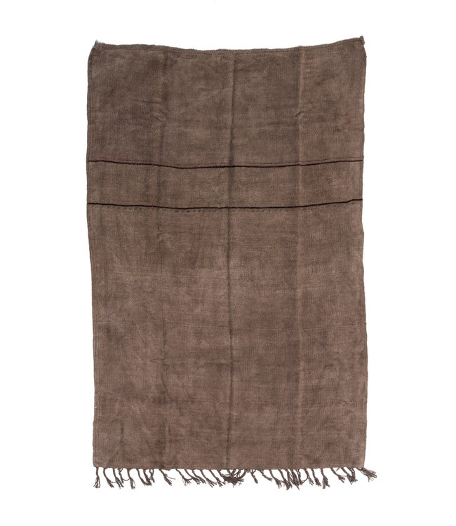Hand knotted kilim - brown