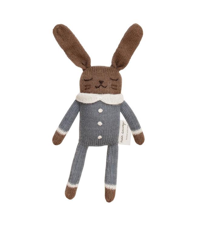 Main Sauvage Wollen konijn, slate jumpsuit