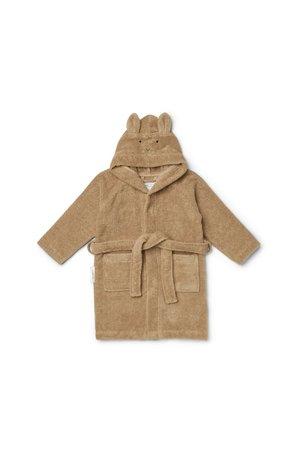 Liewood Lily bathrobe - rabbit oat