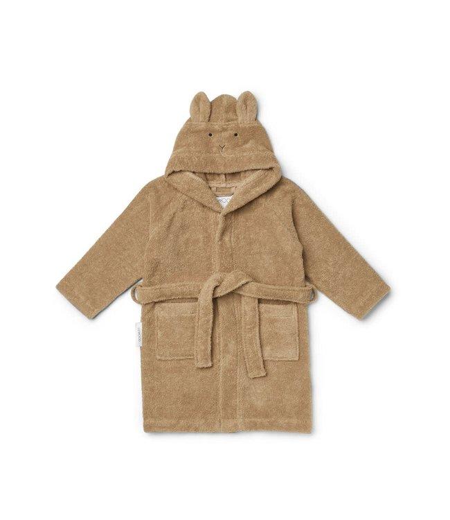 Lily bathrobe - rabbit oat