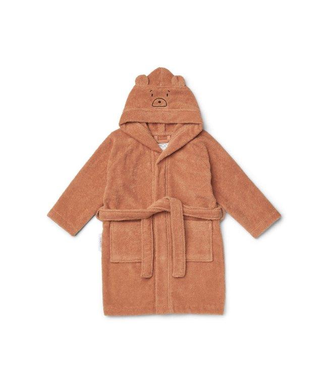 Liewood Lily bathrobe - mr bear tuscany rose